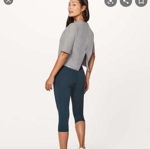 Lululemon Minimal Short Sleeve Power Grey Size 12